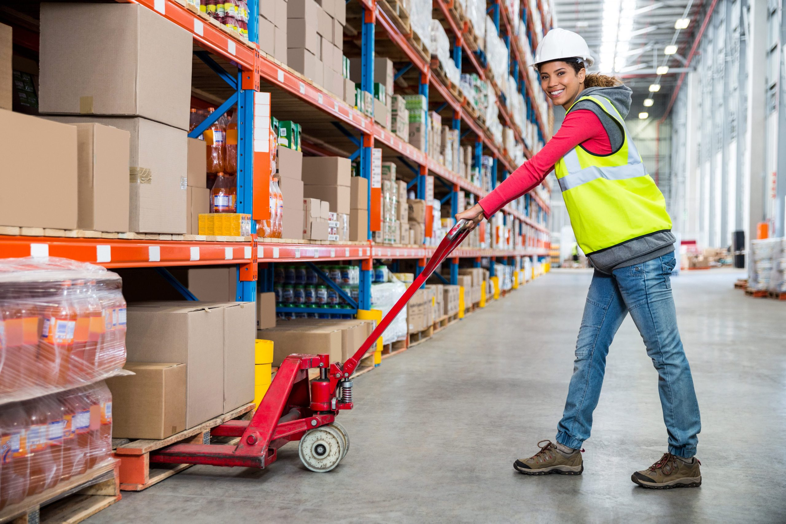 bulk pack and pallet rack company in the us
