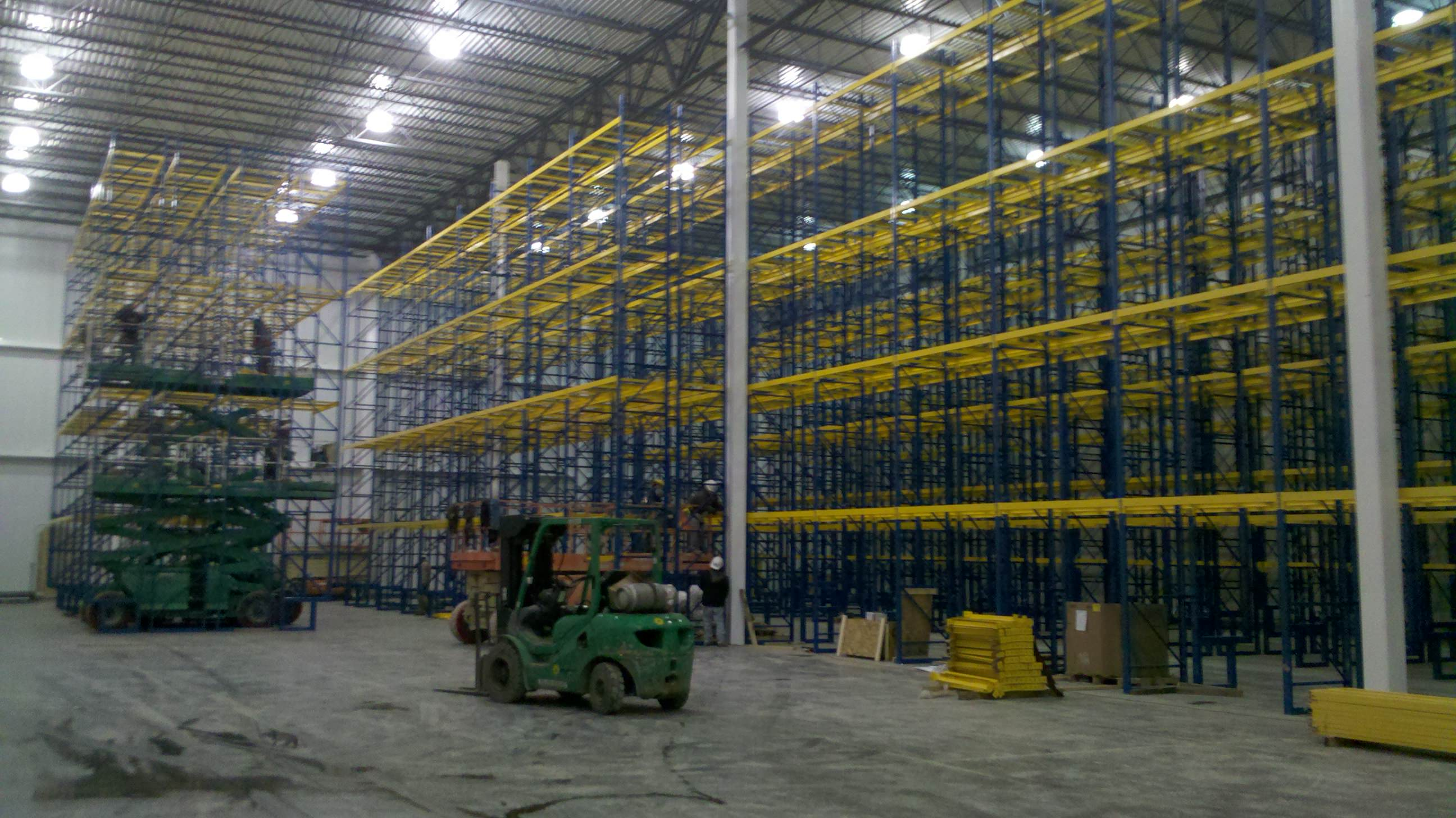 Warehouse Rack Installation