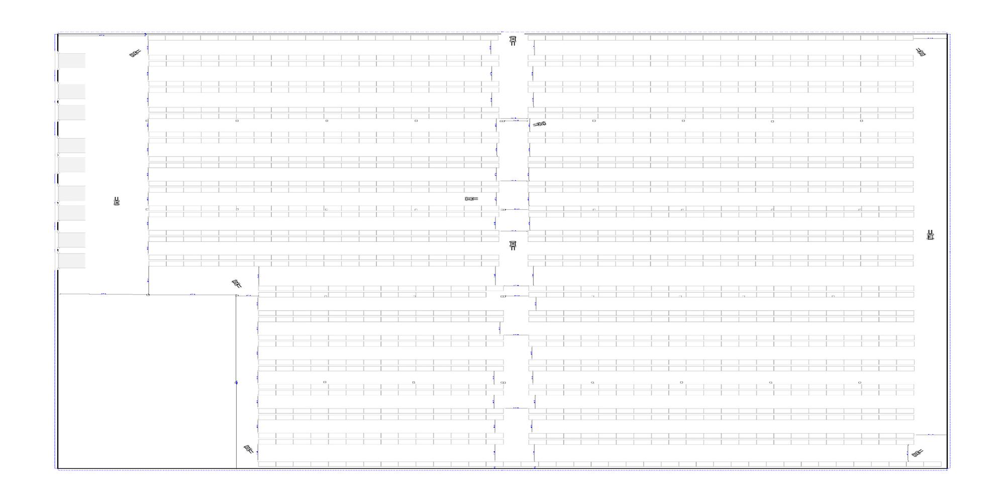 CAD warehouse design drawings