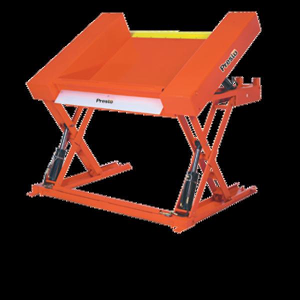 Floor Level Container Tilter