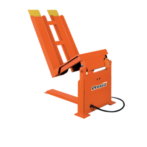 Stationary Container Tilters