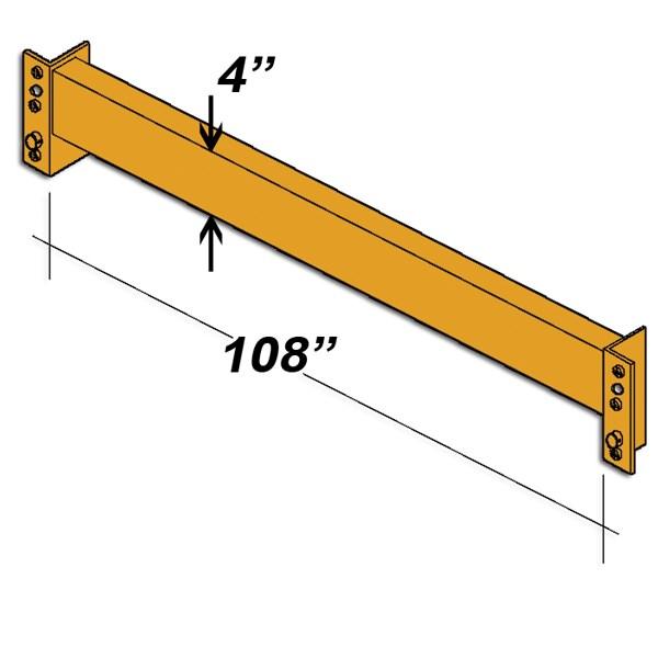 "108"" L x 4"" H Interchangeable Beam"