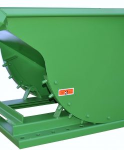 DURABLE 3/4 YD ROURA SELF-DUMPING HOPPER