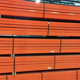 used teardrop pallet rack beams