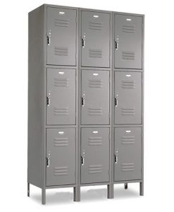 3 Tier 2 Wide Vangurad Locker