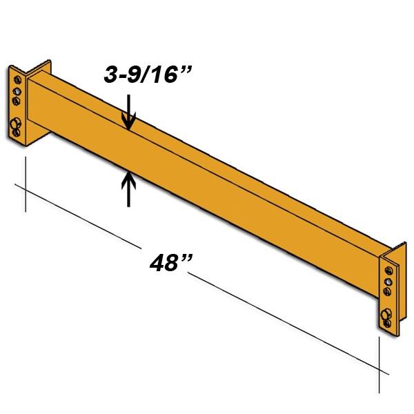 48″ L x 3 9/16″ H Interchangeable Beam 1