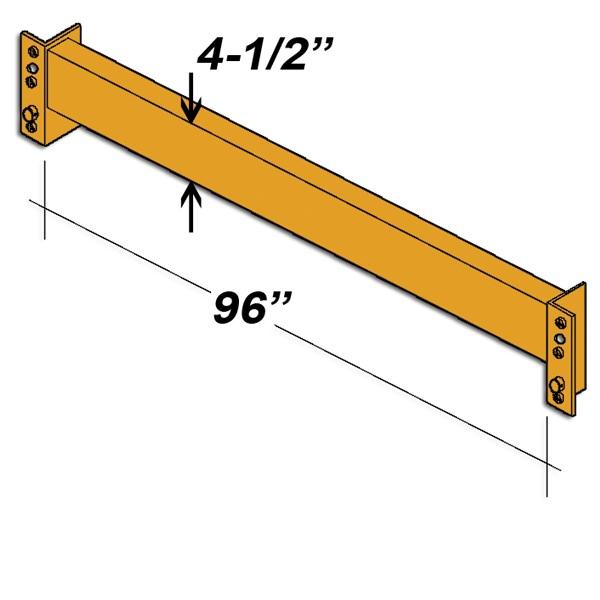 "96"" L x 4.5"" H Interchangeable Beam"