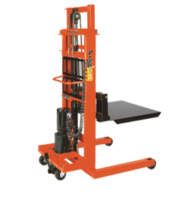 "Presto Lifts AC Electric Stacker EPF766 - EPF Series - Portable - 30"" Forks - Raised Height 66"""