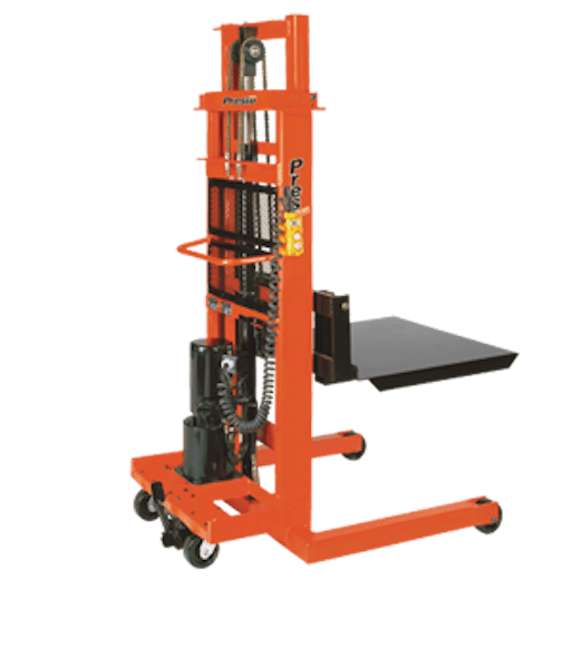 Presto Lifts AC Electric Stacker EPF752 EPF Series Portable 30″ Forks – Raised Height 52″ 1