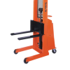 """Presto Lifts Battery Operated Stacker B666 B600 Series Adjustable 25"""" Forks (Non-Straddle) 15"""" Load Center Raised Height 66"""" - 1000 Lbs. Capacity"""