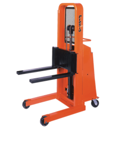 "Presto Lifts Battery Operated Stacker B666-1500 B600 Series Adjustable 25"" Forks (Non-Straddle) 15"" Load Center Raised Height 66"" - 1500 Lbs. Capacity"