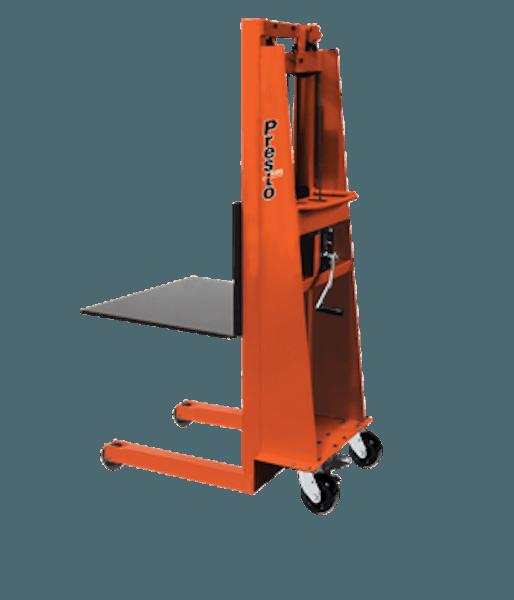 Presto Lifts Batery Operated with Hand Crank MV78 – MV Series – 24″ x 24″ Platform – 15″ L.C