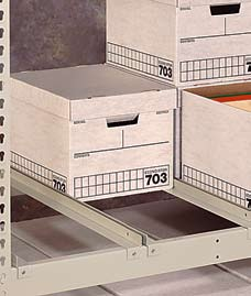 "Penco Products Record Storage 4 Shelf Starter Unit 30""D x 69""W x 84""H"