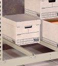 Penco Products Record Storage 4 Shelf Add On Unit 15″D x 42″W x 84″H 2