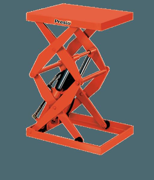 Presto Lifts Hydraulic Double Scissor Lift DXS48-10 – DXS48 Series – 48″ Travel – 1000 Lbs