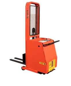 "Presto Lifts Counterweight Lift Stacker C74A-400 CW Series Adjustable 25"" Forks 400 Lbs. Capacity - Raised Height 74"""