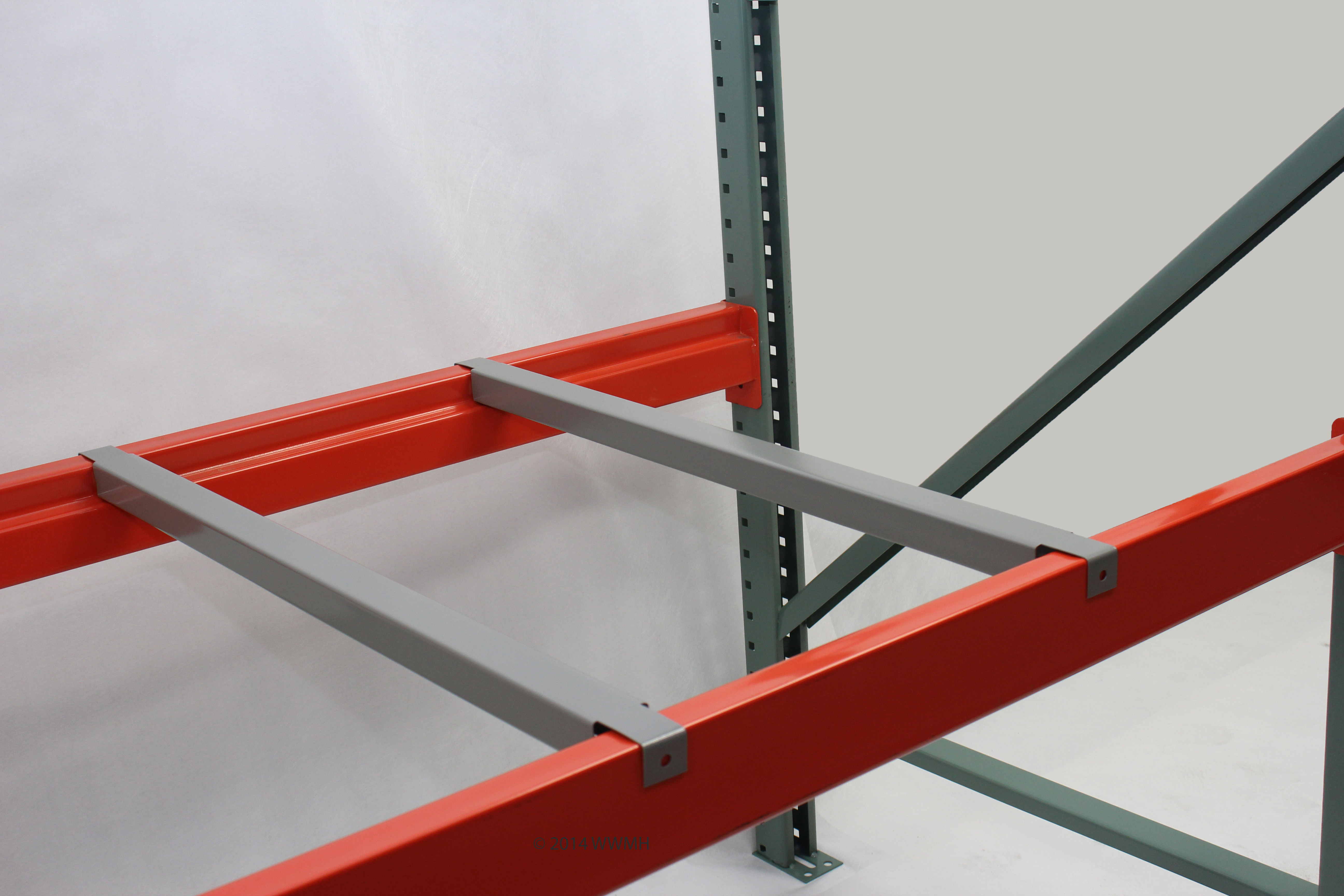 """36"""" D - Double Flanged Pallet Support"""