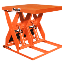 "Presto Lifts Hydraulic Dual Scissor Lift XL60D-80 XL60D Series 60"" Travel - 8000 Lbs. Capacity"