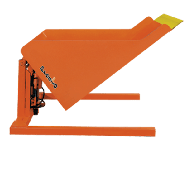 Presto Lifts Floor Level Container Tilter ZRT50-40 ZRT50 Series – 4000 Lbs
