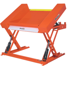 "Prest Lifts Floor Level Lift & Tilt Table XZT50-20 XZT50 Series 50"" x 48"" Platform - 2000 Lbs. Capacity"