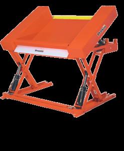 """Prest Lifts Floor Level Lift & Tilt Table XZT44-20 XZT44 Series 44"""" x 48"""" Platform - 2000 Lbs. Capacity"""