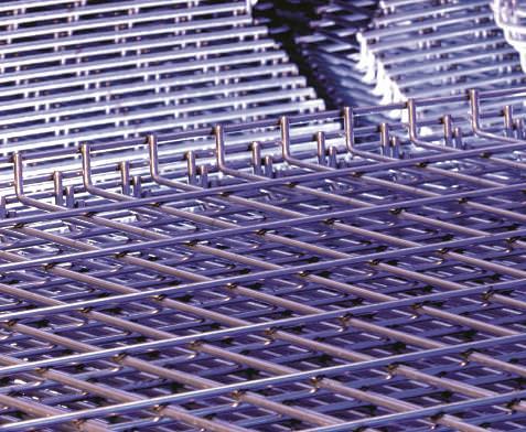 "42"" D x 58"" W GALVA-DECK™ Wire Mesh Deck 2,500 Lbs. UDL"