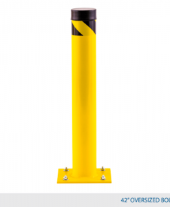 "42"" High Bollard ( 4 1/2"" diameter + 10"" x 10"" base plate)"
