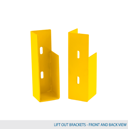 Lift Out Bracket - (Sold in Pairs)