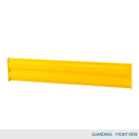 6′ W Heavy Duty Guardrail 1