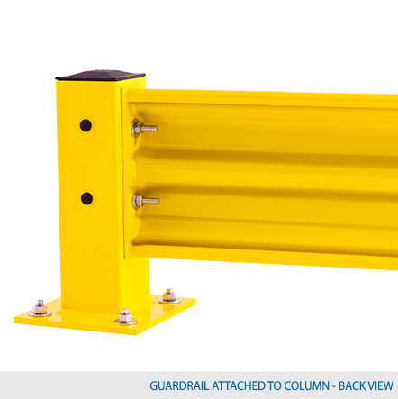 2' W Heavy Duty Guardrail