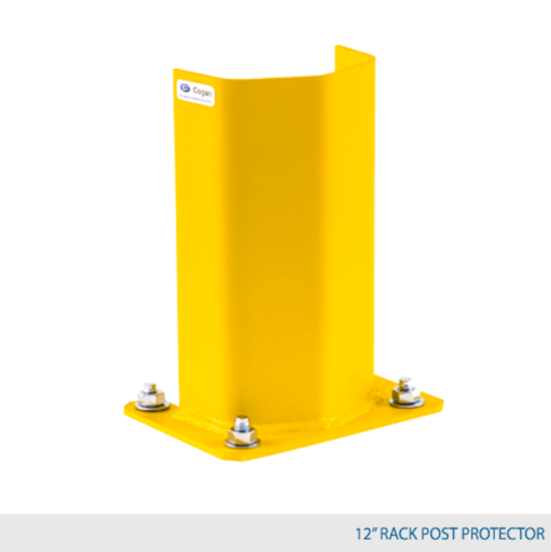 "12"" High Rack Post Protector 1"