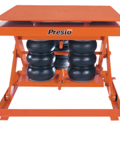 "Presto Lifts Heavy-Duty Pneumatic Lift with Turntable AXSR80-4848 AXSR80 Series - 8000 Lbs. Capacity 48"" x 48"" Platform"