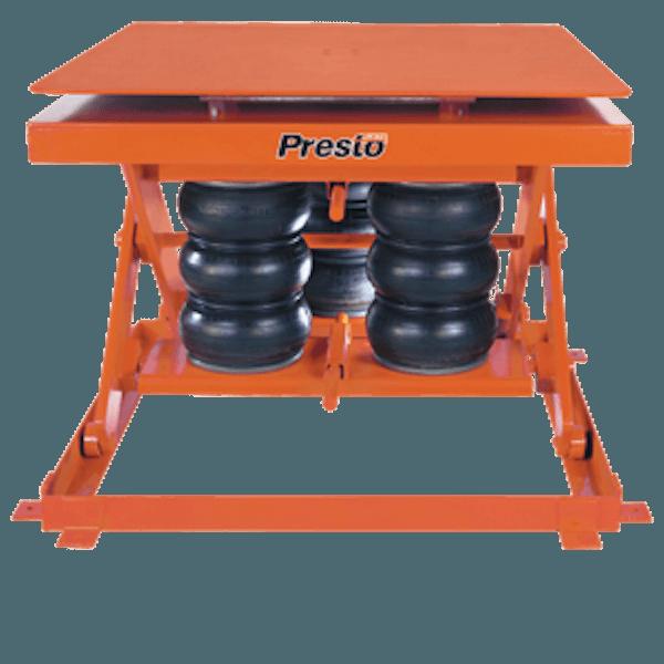 Presto Lifts Heavy-Duty Pneumatic Lift with Turntable AXSR60-4856 AXSR60 Series – 6000 Lbs
