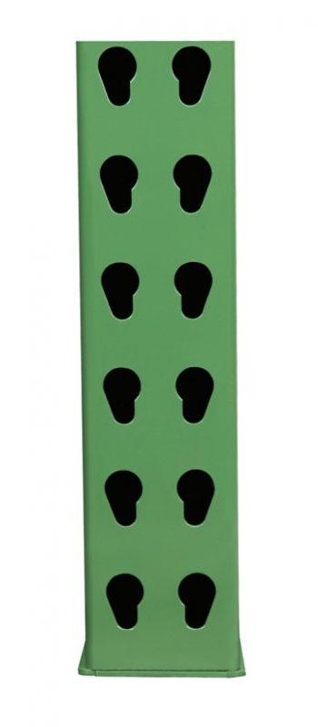 36″ D x 120″ H – 3″ x 1 5/8″ Column Invincible® Upright 1