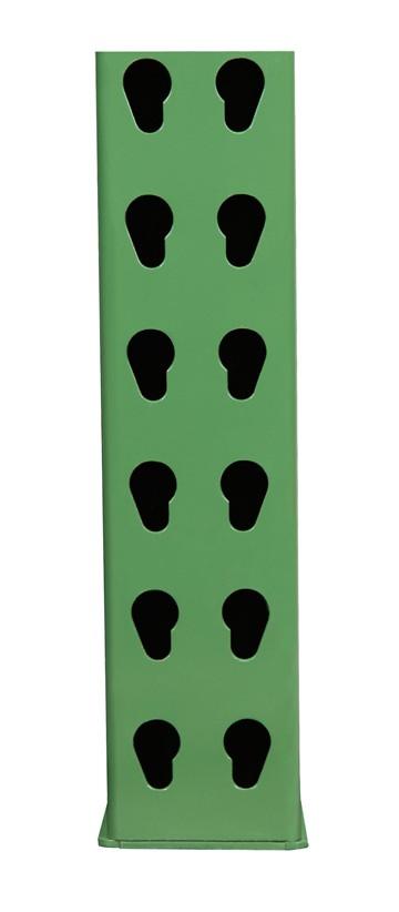 "42"" D x 192"" H - 3"" x 1 5/8"" Column Invincible® Upright"