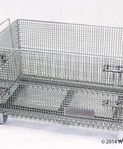 "Junior Wire Basket - 20"" D x 32"" W x 22"" H"