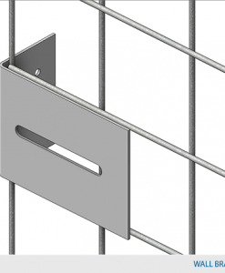 "Single-Tier Industrial Storage Locker 7'6""H x 3'0""W x 4'0""D - framed 2""x2""x10GA welded wire mesh (Add-on Unit)"