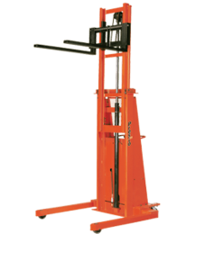 "Presto Lifts Powered Straddle Stacker BT8107 1500 B800 Series 20"" Load Center Raised Height 107"" - 1500 Lbs. Capacity"