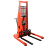 """Presto Lifts Powered Straddle Pallet Stacker PSTA27107 PSTA Series Adjustable Base Straddle (35"""" I.D. to 50"""" I.D.) Raised Height 107"""" - 2700 Lbs. Capacity"""