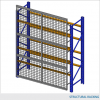 Rack Guard Panel 9′ W x 4′ H (exact panel size 106″ W x 47″ H) – Framed 2″ x 2″ x 10GA welded wire mesh 2