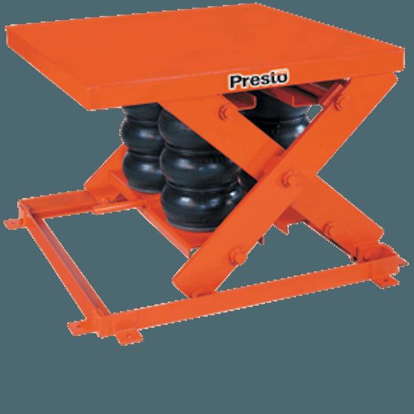 Presto Lifts Heavy Duty Pneumatic Scissor Lift AXS80-4856 AXS80 Series – 8000 Lbs