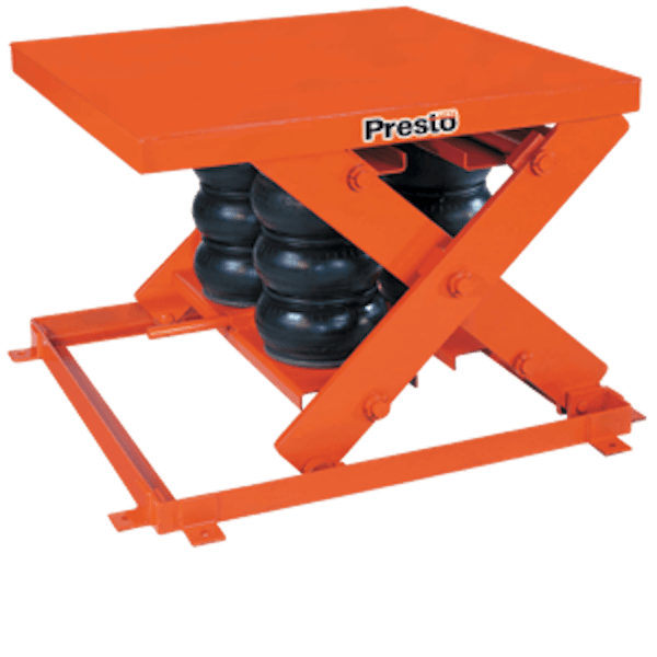 Presto Lifts Heavy Duty Pneumatic Scissor Lift AXS20-3648 AXS20 Series – 2000 Lbs
