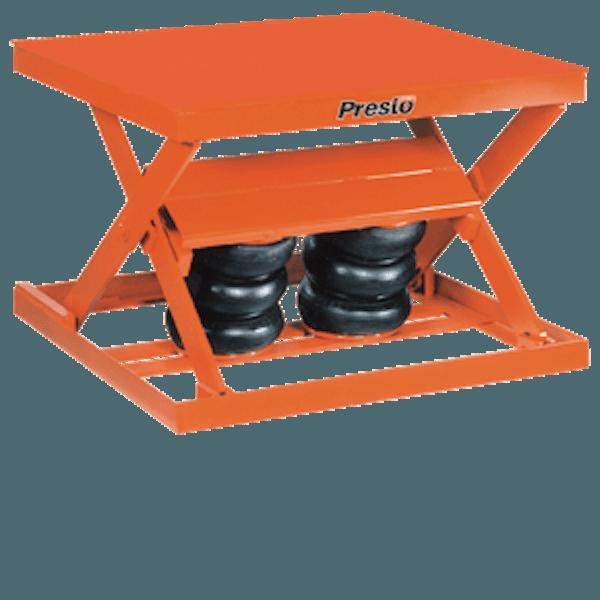Presto Lifts Standard-Duty Pneumatic Scissor Lift AX10-4860 AX10 Series – 1000 Lbs