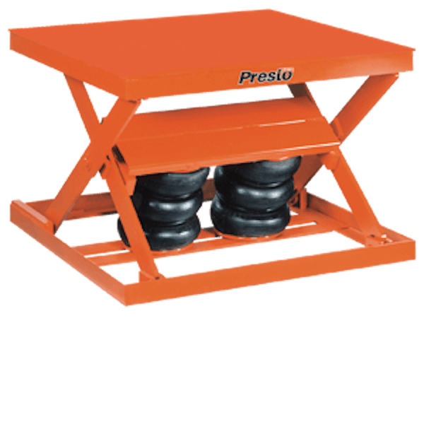 Presto Lifts Standard-Duty Pneumatic Scissor Lift AX10-3648 AX10 Series – 1000 Lbs