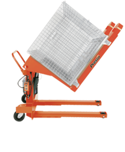 "Presto Lifts Portable Container Tilter PTS50-20 PTS Series - 50"" I.D. - 2000 Lbs. Tilt Capacity"