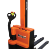 """Presto Lifts PowerStak PPS2200 Series Adjustable Base Straddle 2,200 Lbs. Capacity - 150"""" Fork Height"""