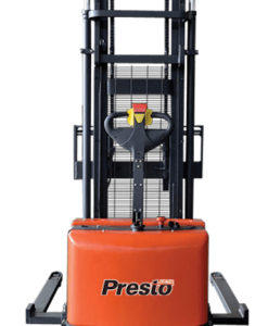 "Presto Lifts PowerStak PPS3000 Series Adjustable Base Straddle 3,000 Lbs. Capacity - 125"" Fork Height"