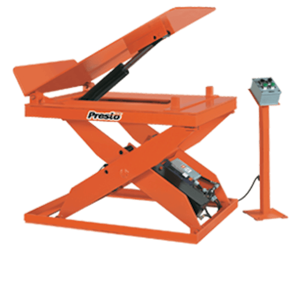 Presto Lifts Hydraulic Scissor Lift & Tilt Table XLT36-10 XLT Series – 1000 Lbs
