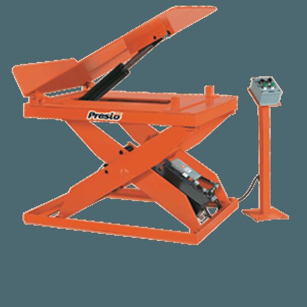 Presto Lifts Hydraulic Scissor Lift & Tilt Table X3WT36-20 X3WT Series 1