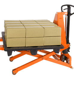 "Presto Lifts Manual Skid Lifter 21.25"" W 46 ¾"" L 2500 lbs Capacity"